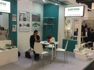 Canopus Instruments stall at SPS – IPC Drives 2017.